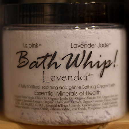 T. S. Pink Lavender Bath Whip